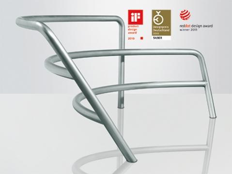 Designpreise für Parkbank red dot iF product design award Designpreis der Bundesrepublik Deutschland