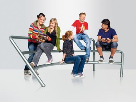 Sitzbogen Theatrum Runge Kids Bank Kinder