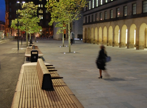 Rambla Bank Manchester St. Peter's Square