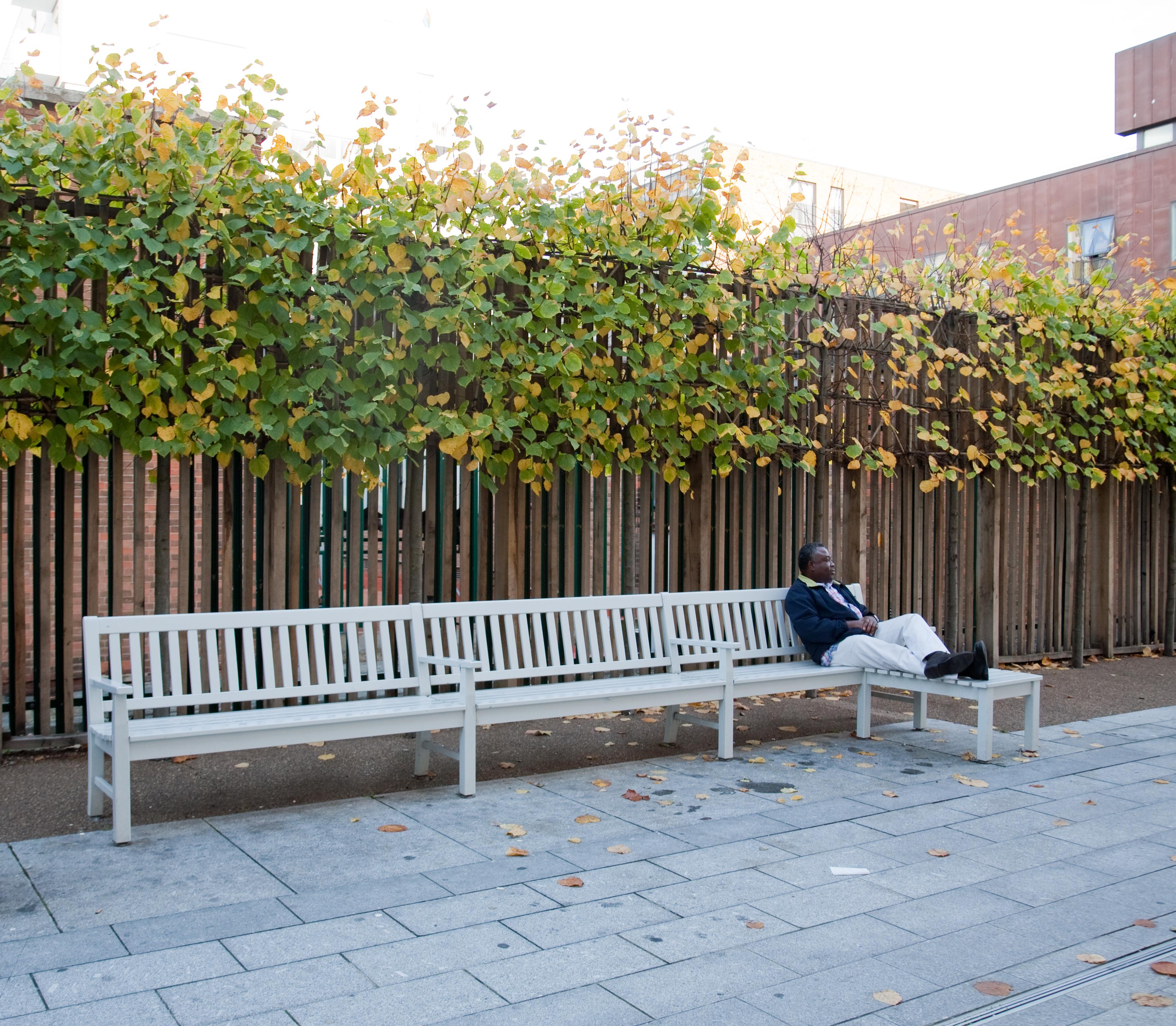Klassische englische Parkbank 14C