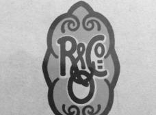 Runge und Co Firmen Wappen von 1908 Kunstgewerbliche Werkstätten Osnabrück